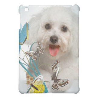 Maltese and Butterflies IPAD CASE