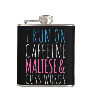 Maltese and Cuss Words Flask