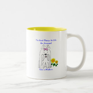 Maltese Best Things In Life Mug