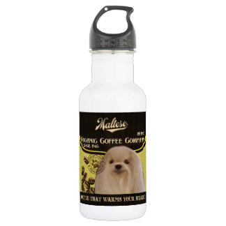 Maltese Brand – Organic Coffee Company 18oz Water Bottle