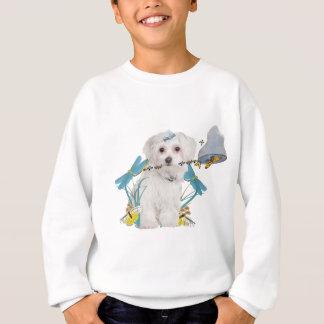 Maltese Butterfly Catcher Apparel Sweatshirt