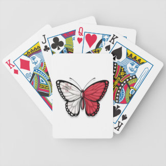 Maltese Butterfly Flag Playing Cards