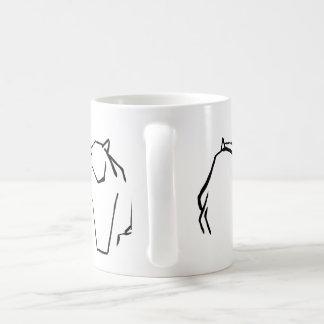 Maltese cat coffee mug
