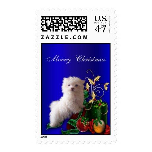 Maltese Christmas Holiday Postage Stamps