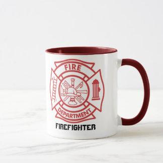 Maltese Cross / Firefighter - mug
