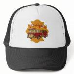 Maltese Cross Firetruck Trucker Hat