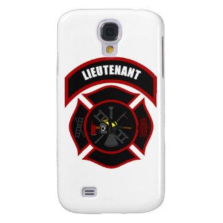 Maltese Cross - Lieutenant (black helmet) Galaxy S4 Cover