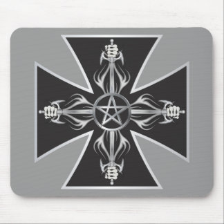 Maltese Cross Mouse Pads