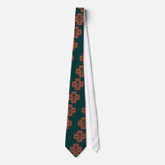 Maltese Cross Pipes Neck Tie