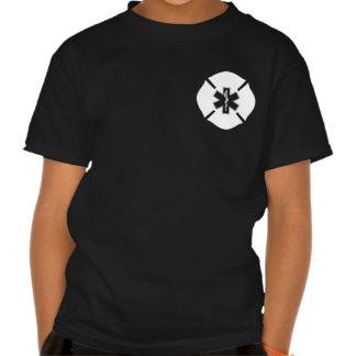 Maltese Cross & Star of Life Tee Shirt