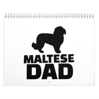 Maltese Dad Calendar
