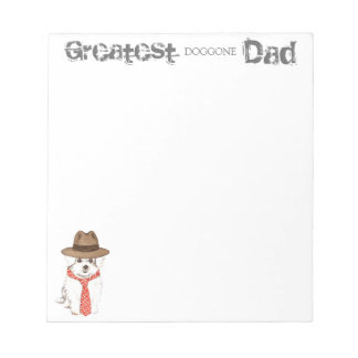 Maltese Dad Notepad