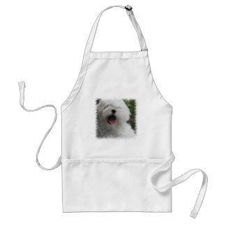 Maltese Dog Apron