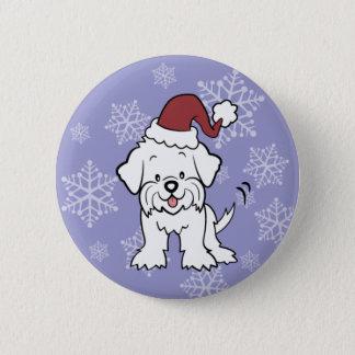 Maltese Dog Buttons