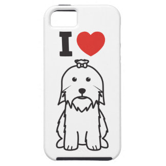 Maltese Dog Cartoon iPhone 5 Covers