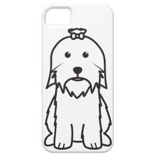 Maltese Dog Cartoon iPhone 5 Case