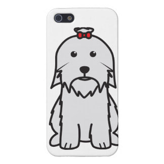 Maltese Dog Cartoon Cases For iPhone 5