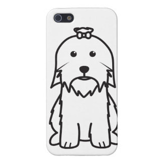 Maltese Dog Cartoon Covers For iPhone 5