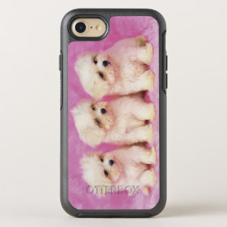 Maltese Dog; is a small breed of white dog OtterBox Symmetry iPhone 8/7 Case