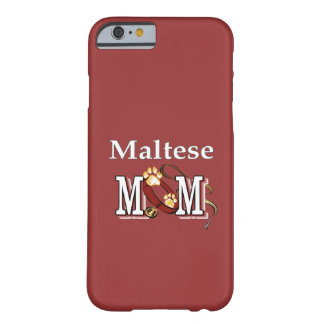 Maltese Dog Mom Barely There iPhone 6 Case