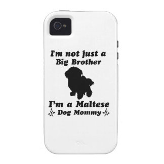 maltese Dog Mommy Designs Case-Mate iPhone 4 Case