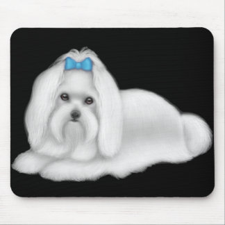 Maltese Dog Mousepad