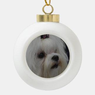 Maltese Dog Ornaments