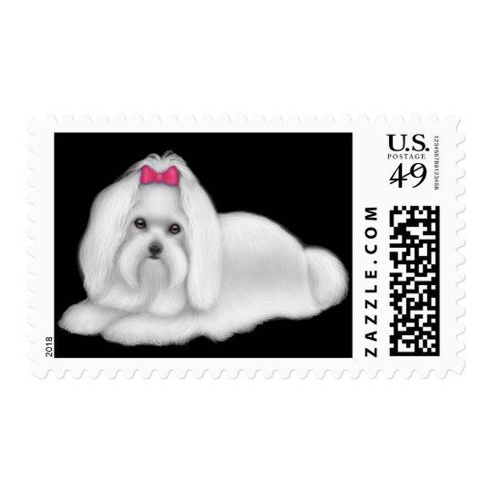 Maltese Dog Postage
