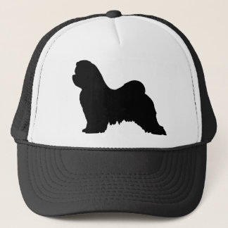 Maltese Dog Trucker Hat