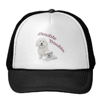 Maltese Double Trouble Casual Apparel Trucker Hat