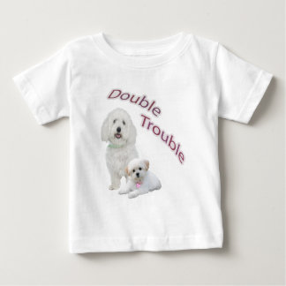 Maltese Double Trouble Casual Apparel Infant T-shirt