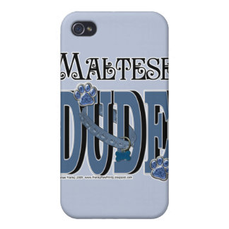Maltese DUDE Case For iPhone 4