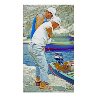 Maltese Fishermen (3) Posters