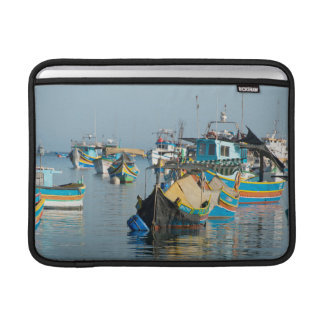 Maltese Fishing Boats | Marsaxlokk In Malta MacBook Sleeve