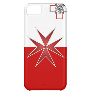 Maltese Flag Cover For iPhone 5C