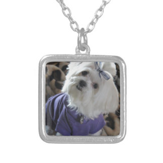 Maltese Gifts Silver Plated Necklace