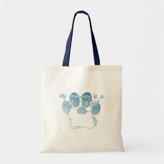 Maltese Granddog Tote Bag