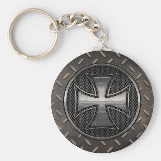 Maltese Gridiron Keychain