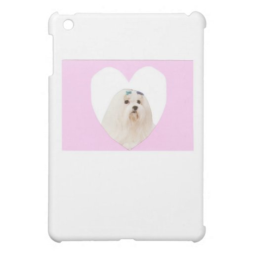 Maltese Happy Valentine's Day Gifts Cover For The iPad Mini