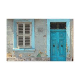 Maltese House Canvas Print