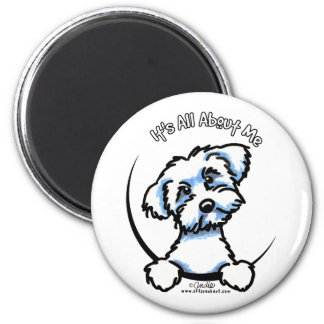 Maltese Its All About Me Refrigerator Magnets