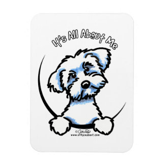Maltese Its All About Me Flexible Magnet