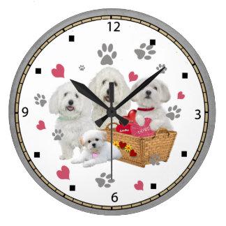 Maltese Love Clock