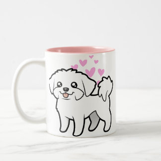 Maltese Love puppy cut Mugs