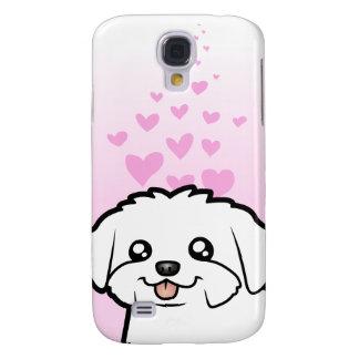 Maltese Love (puppy cut) Samsung Galaxy S4 Case