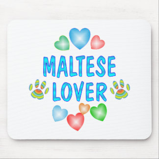 MALTESE LOVER MOUSE PAD