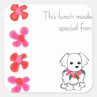 Maltese Lunch Sticker