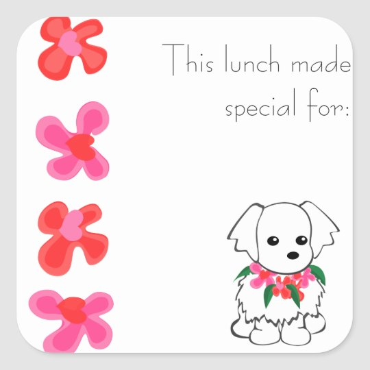 Maltese Lunch Sticker