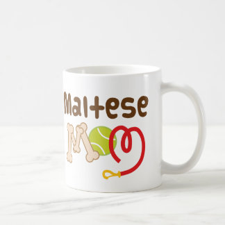 Maltese Mom (Dog Breed) Gift Coffee Mug