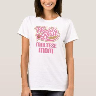 Maltese Mom Dog Breed Gift T-Shirt